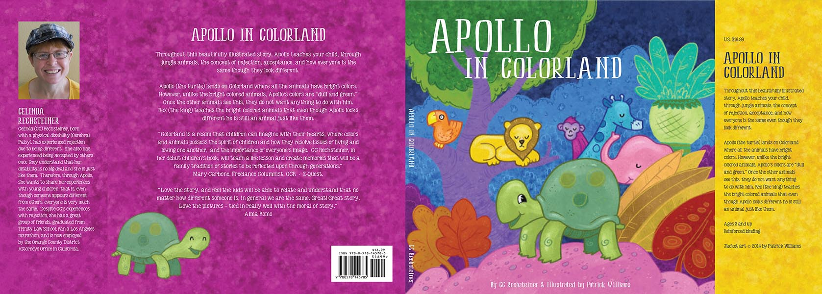 Apollo in Colorland dust cover